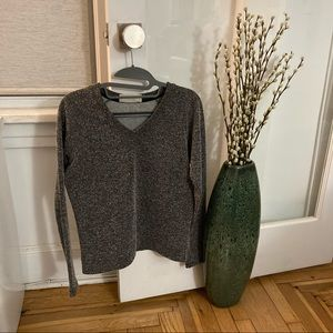 Zara Trafaluc Marbled Long Sleeve Top Size S